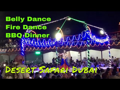 Desert Safari Dubai with BBQ Dinner, Belly Dance and Fire Dance.