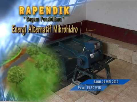 "SMKN 1 Kota Probolinggo ""Energi Alternatif Mikrohido"""