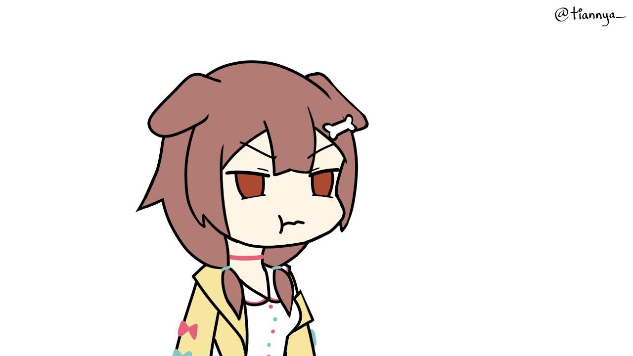 [Inugami Korone] happy face