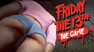 Friday The 13th The Game Gameplay German - Saftige Teenager