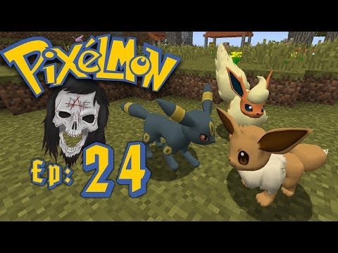 Pixelmon: Let's Go! - All Eevee Evolutions [Episode 24] #PixelmonLetsGo