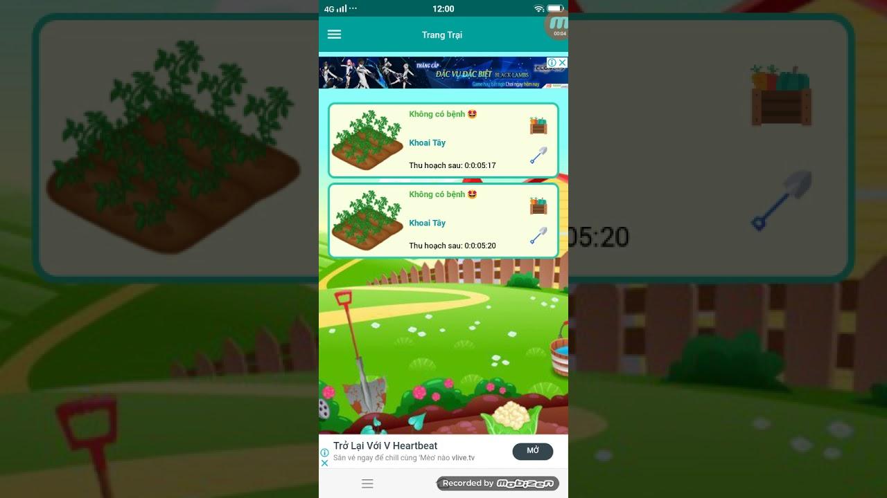 [Be Farmer] Bán 807 Đậu Hà Lan Và Giới Thiệu Cách Làm NV Trên App