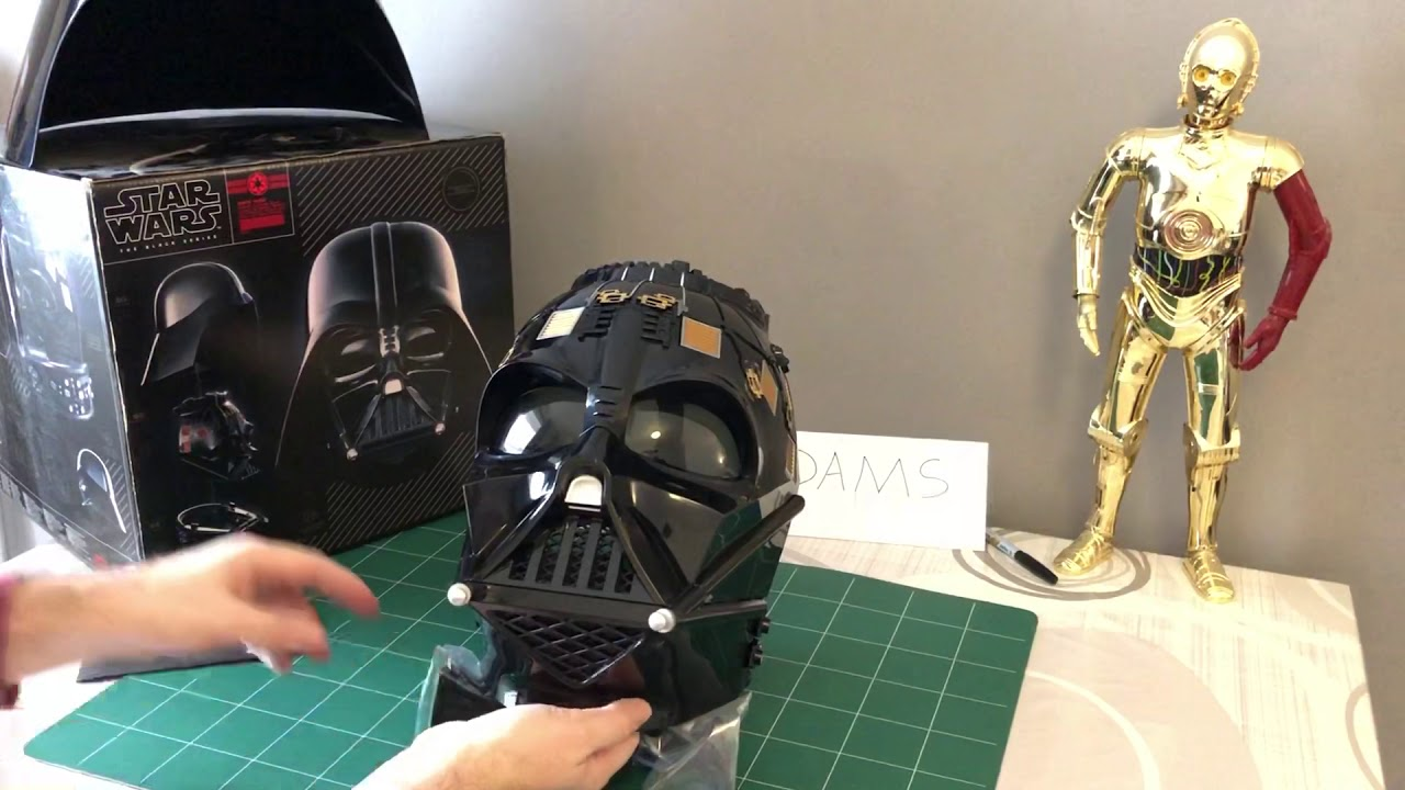 Hasbro Black Series Star Wars Dark Vador Casque Review En Francais