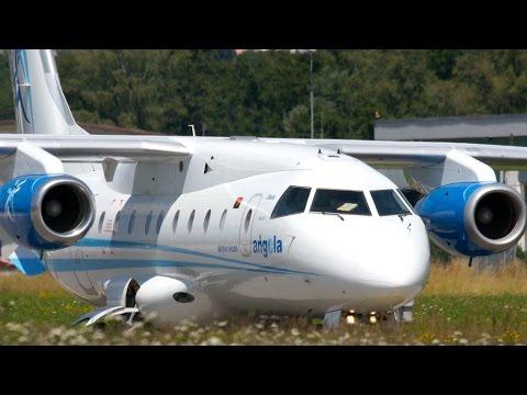 RARE! Dornier 328JET Angola Air Services Take-Off at Bern Airport