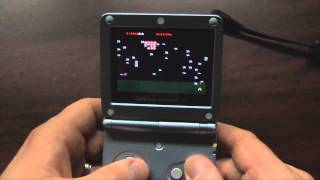 Classic Game Room   MILLIPEDE and SUPER BREAKOUT and LUNAR LANDER review for Game Boy Advance