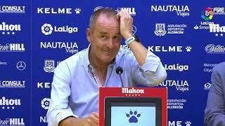 Rueda de prensa de Víctor Fernández tras el AD Alcorcón vs Real Zaragoza (0-3)