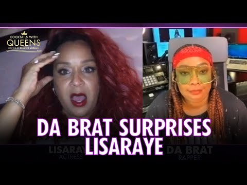 Da Brat Surprises LisaRaye for her Birthday | Cocktails with Queens