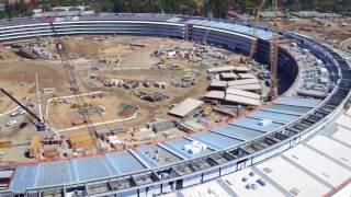 """بالفيديو.. مبنى """"أبل"""" الجديد في كاليفورنيا """"سفينة فضاء"""""""