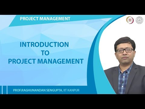 Lecture 1: Introduction to Project Management