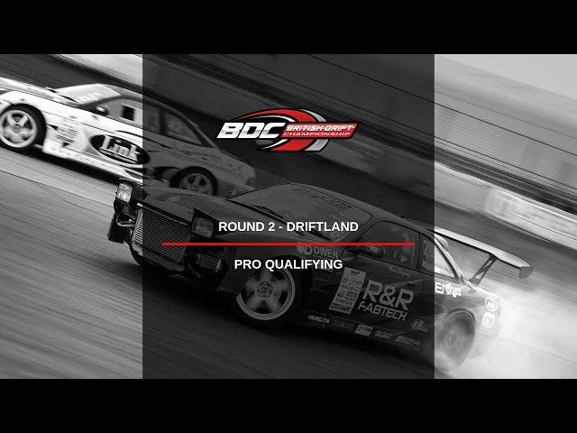 British Drift Championships - Round 2 Driftland - Pro Qualifiers