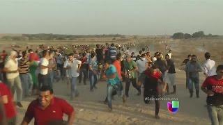 Violencia en la Franja de Gaza y Cisjordania