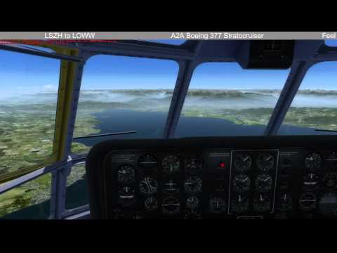 Livestream 12.07.15 A2A Boeing 377 LSZH to LOWW - 1 / 2