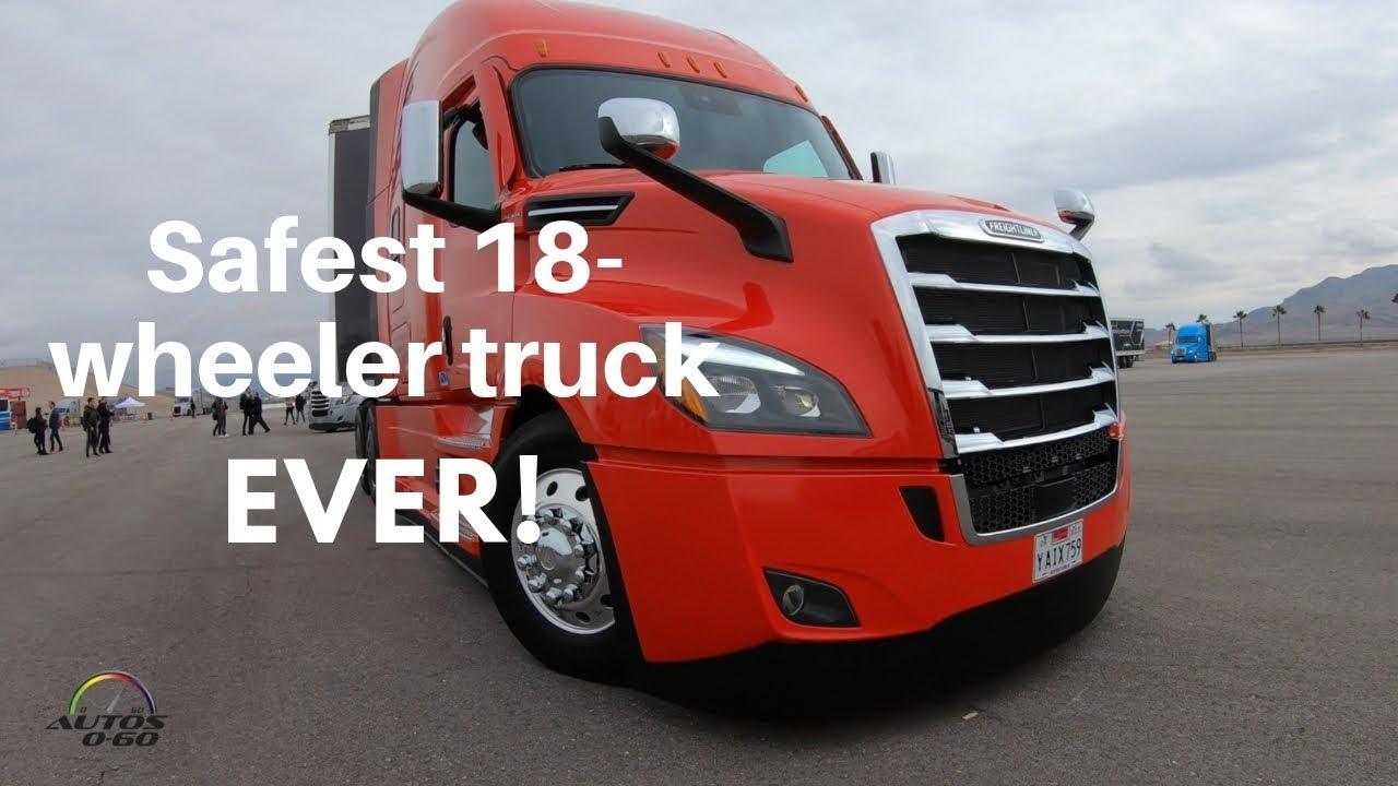 Freightliner Las Vegas >> 2019 Freightliner Cascadia With Detroit Assurance 5 0 Demonstration At Las Vegas Motor Speedway