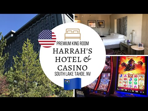 Harrah's Hotel & Casino, Premium King Room, South LAKE TAHOE, Nevada, USA