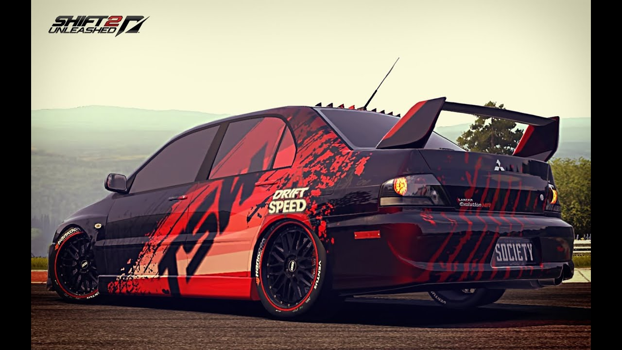 NfS Shift2U Decals & Design - Lancer EVO TSW - YouTube
