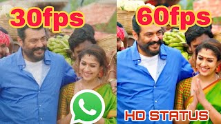 How to make smooth 60fps WHATSAPP status video