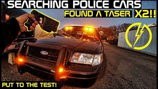 Searching Police Cars Found Taser X2! Crown Rick Auto