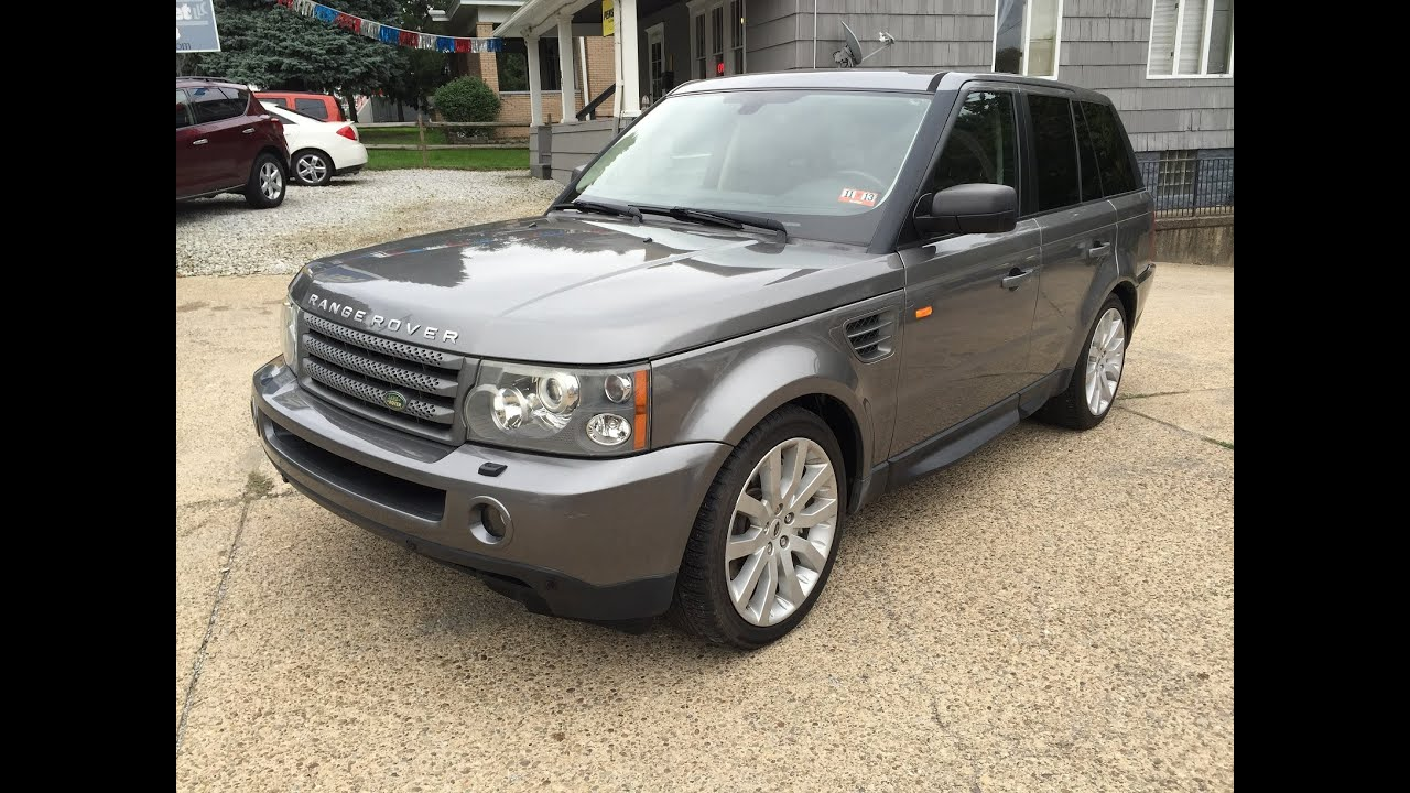 2007 land rover range rover sport hse elite auto outlet bridgeport ohio youtube. Black Bedroom Furniture Sets. Home Design Ideas