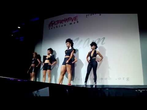 RYAIN by Keyona Gore @ Columbus, Ohio FMMF 2014  w/ Alternative Fashion Mob