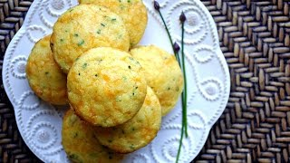 Cheddar & Chive Corn Muffins