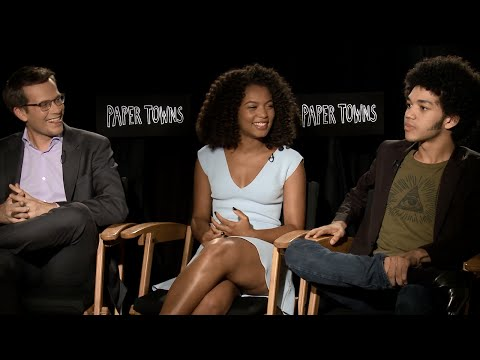 Paper Towns Interview: John Green and the Cast Talk Sneaking Into Movies