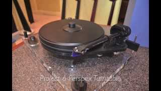 Project 6 Perspex Turntable