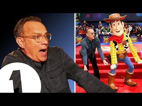 'YEEHAW!' Tom Hanks on becoming Woody and making you cry in Toy Story 4.