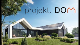 PROJEKT DOM 2020 budowa domu krok po kroku, nowoczesny dom parterowy stodoła, dom pasywny PROLOG
