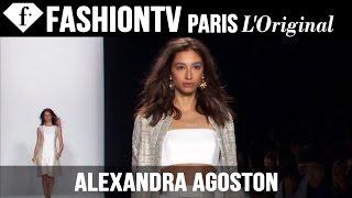 Model Alexandra Agoston | Beauty Trends for Spring/Summer 2015 | FashionTV