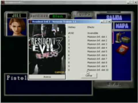Resident evil 3 скачать трейнер
