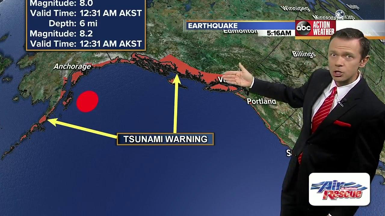 No West Coast tsunami threat from 7.5 Russia earthquake