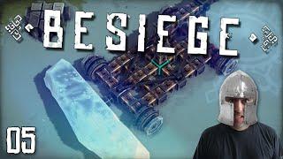 """BESIEGE Gameplay Part 5 - """"DRILL"""
