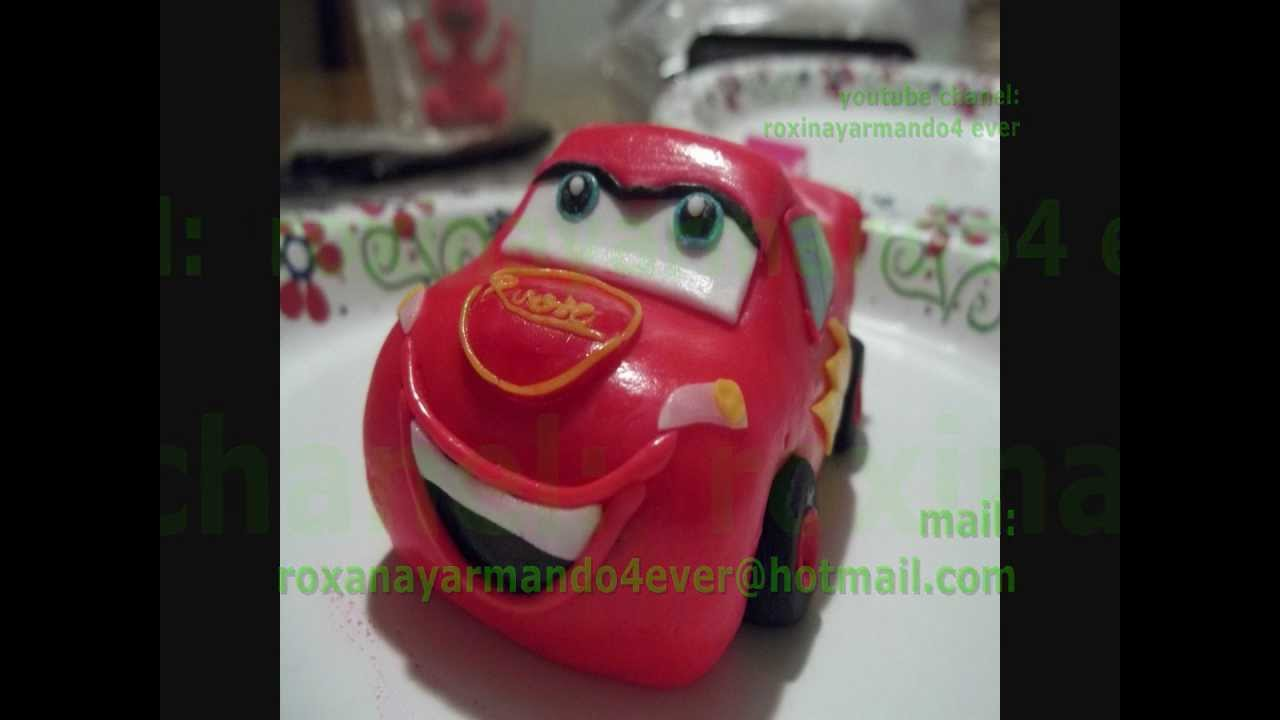 How To Make A Lightning Mcqueen Cake Topper