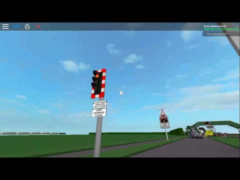 ROBLOX| Hesford Orchard Level Crossing, Shrops (17.8.2016)