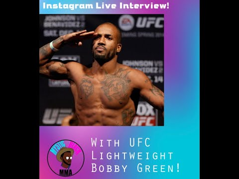 Mystic Black MMA interviews UFC Lightweight, and Former King of the Cage Lightweight Champion, Bobby Green