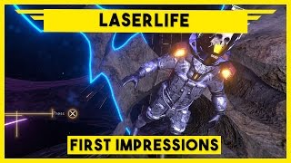 Laserlife Gameplay - Music & Memories in Space - Laserlife Gameplay PC on Steam