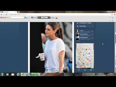 Easy way to reblog pictures on Tumblr