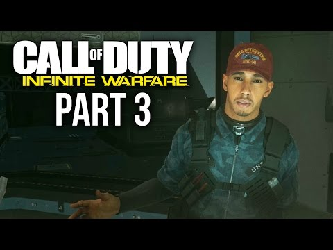 CALL OF DUTY INFINITE WARFARE Gameplay Walkthrough Part 3 - LEWIS HAMILTON (Campaign)