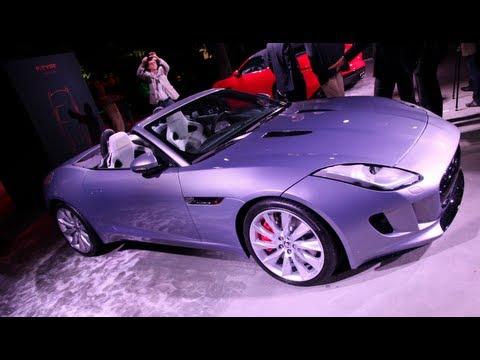 New 2014 Jaguar F-Type World Premiere - 2012 Paris Motor Show