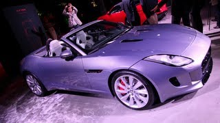 New 2014 Jaguar F-Type World Premiere - 2012 Paris Motor Show