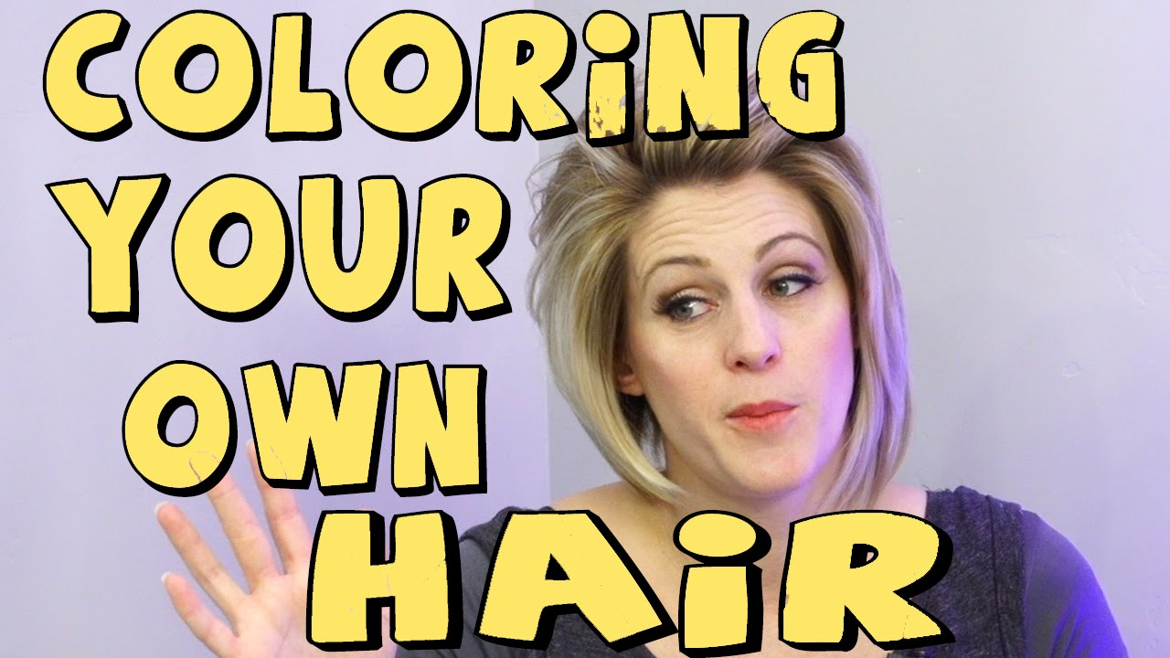 SHOULD YOU COLOR YOUR OWN HAIR - YouTube