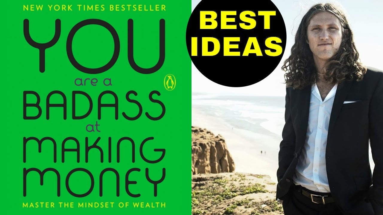 You Are A Badass At Making Money Jen Sincero Best Ideas Book