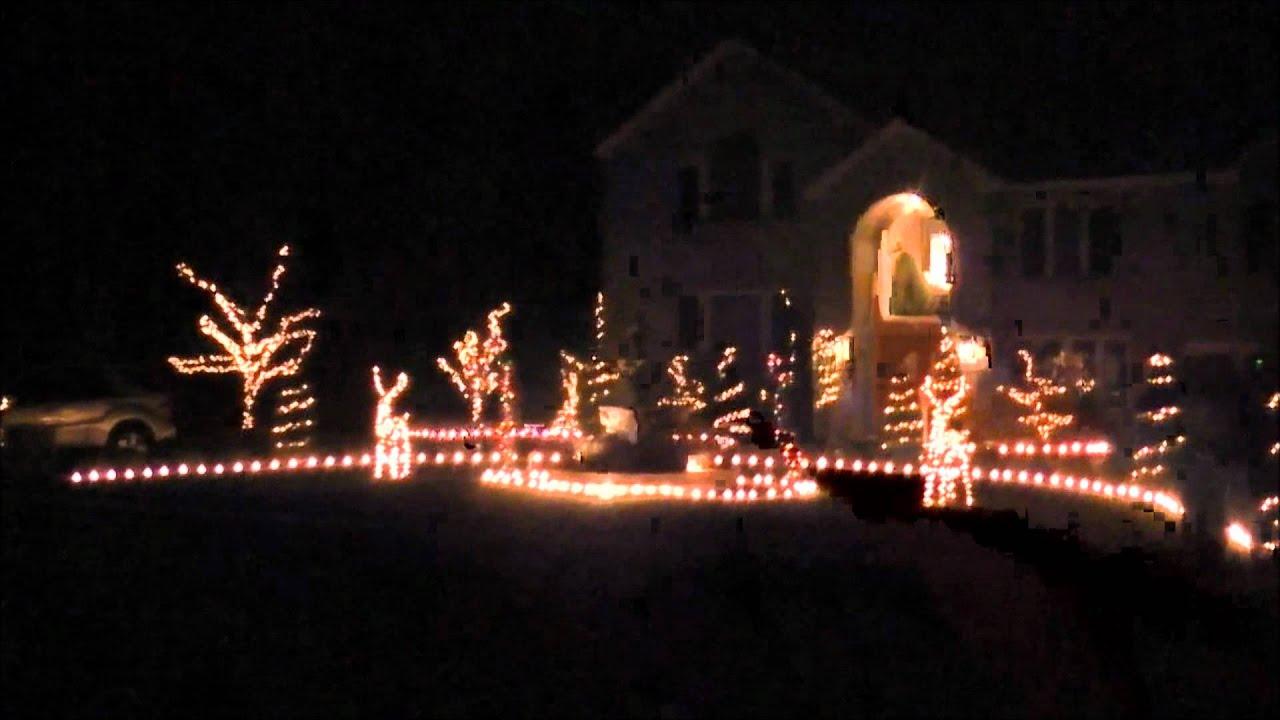 2011 christmas light show ge wireless lights and sounds of christmas youtube
