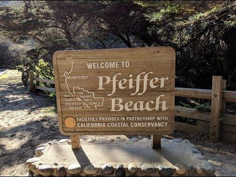 Pfeiffer beach, Big Sur, California / Пфайффер-бич