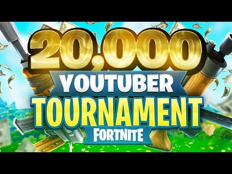 20 000 youtuber streamer fortnite tournament week 10 - 20000 fortnite tournament bracket