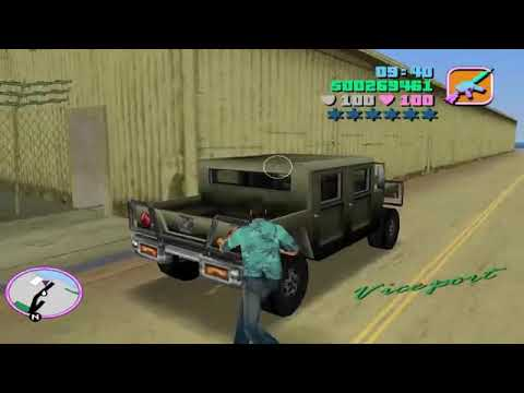 How To Find & Kill Army General of GTA Vice City  Secret Military Convoy Location with hama gaming! |