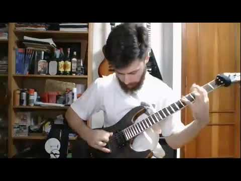 Practicing and jamming metal stuff on guitar