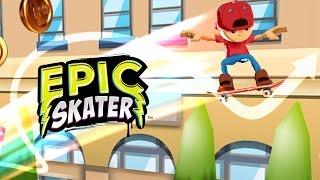 Epic Skater - IOS / Android - HD (Sneak Peek) Gameplay Trailer