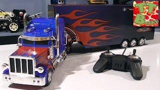 ✔ Машинка грузовик. Видео для детей. Распаковка новой игрушки на радиоуправлении. Обзор от Игорька