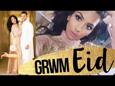 Get Ready With Me for Eid! | w/ @bodmonzaid | Tarte Swamp Queen Palette | irenesarah